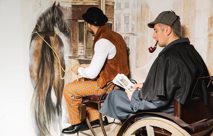 Рецензия на квест Шерлок Холмс (Взаперти)