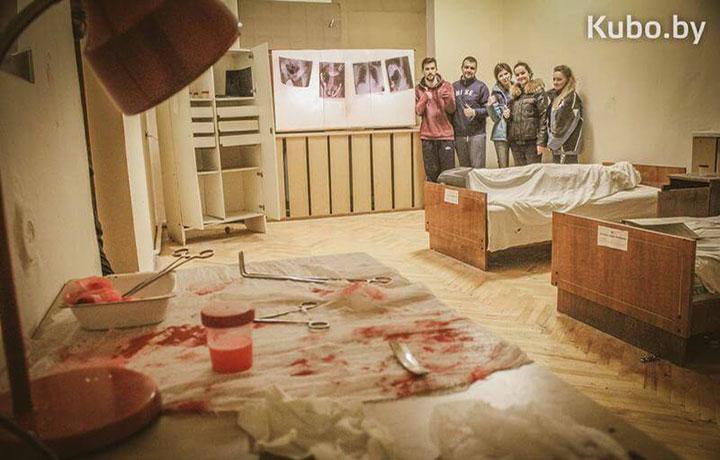 ExtraОбзор брестского перфоманса Психиатрическая клиника Доктора Моргана